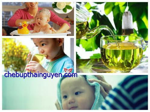 Tác dụng của chè búp đối với trẻ em