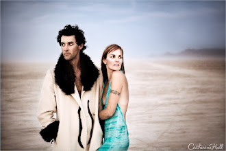 Photo: Mr. and Mrs. Hudock- Burning Man  Tip of the Day :  When posing models move beyond simple, structural directions that will likely make them stiff (such as move your head up, arm left, chin down, etc... and act natural!). Invite your models to get into character by acting out a story, this will create a more organic aesthetic and engaging narrative.  For more tips on posing models check out the latest episode of TWiT Photo with guest +Wil Wells & +Dave Cox   http://twit.tv/show/twit-photo/66
