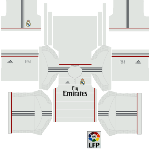 Real madrid kit fts 15 logo
