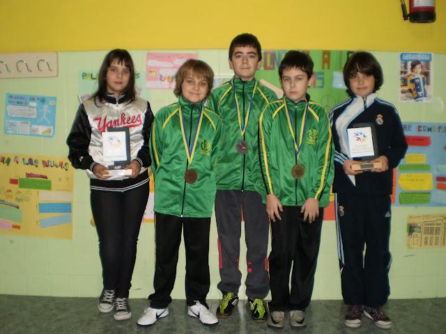 Campeones/as de tenis de mesa
