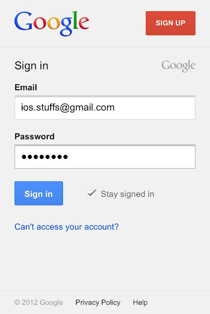 2-Step Verification, log in