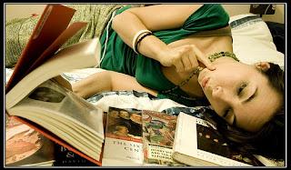 woman reading photo courtesy of rachel sian on flickr
