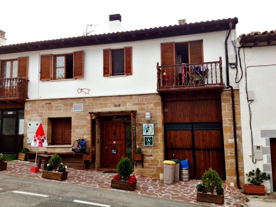 Albergue de peregrinos El Albergue de Zariquiegui, Zariquiegui, Navarra, Camino de Santiago