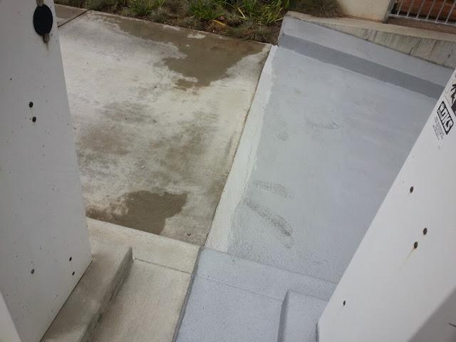 La Jolla Presbyterian Deck Waterproofing - 20131129_091022