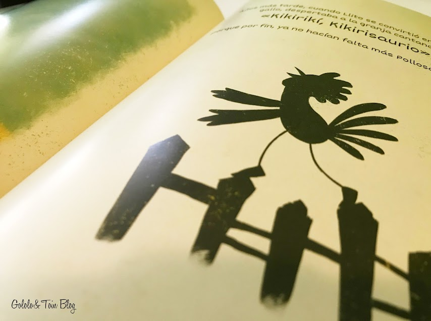 Pollosaurio, álbum ilustrado sobre acoso escolar