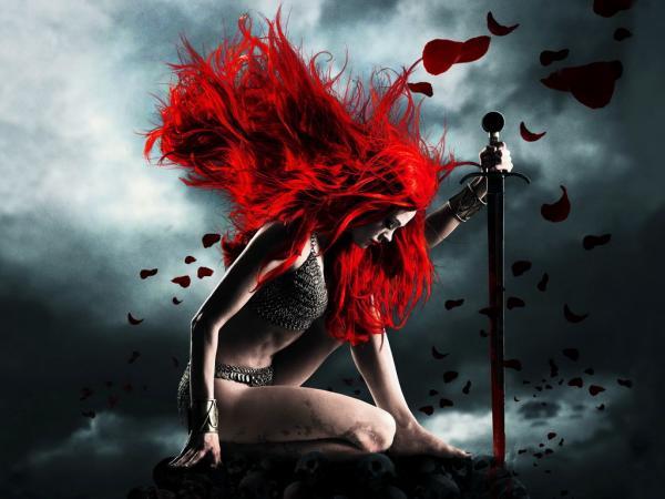 Red Warrior Sword Girl, Warriors