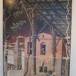 005 -Mantegna- Padova  Cappella Ovetari- martirio di San Cristoforo-particolare del pergolato con uva.jpg