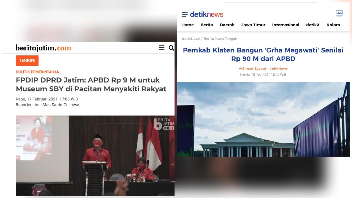 Museum SBY-ANI Disoal, Kader Demokrat Ungkit Grha Megawati yang Habiskan Puluhan Miliar