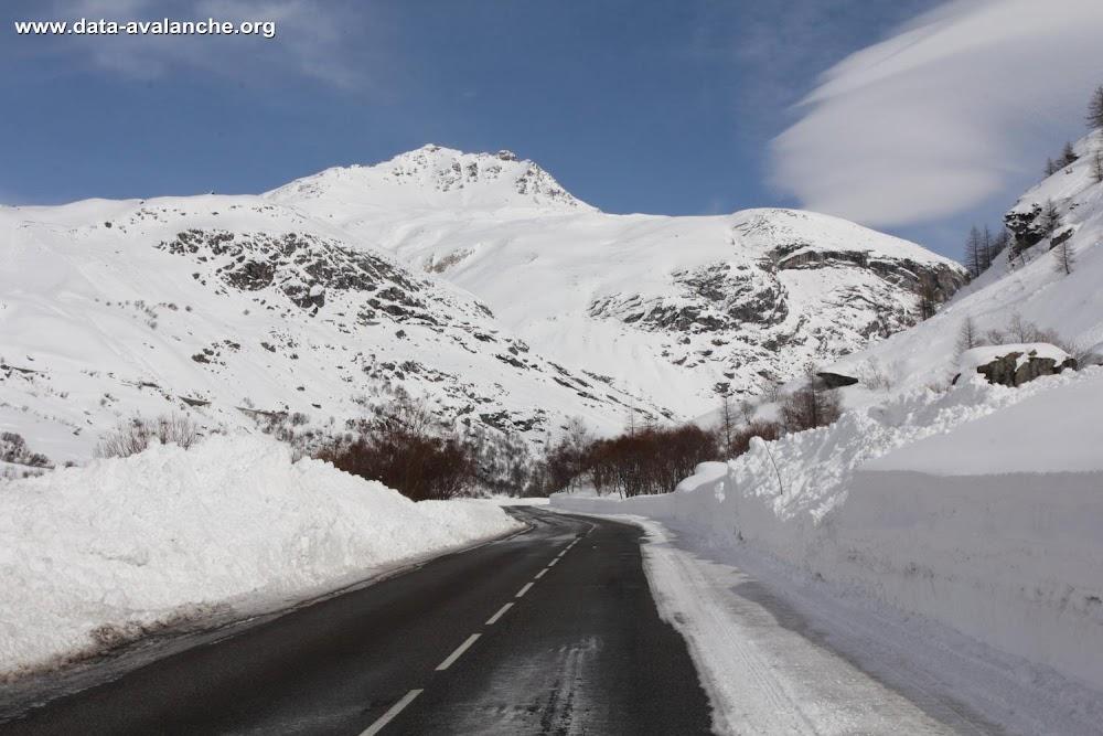 Avalanche Haute Maurienne, secteur Pointe d'Andagne, RD 902 - Rosse Zaille - Photo 1