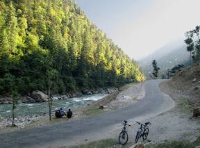 Cycling through the blue gem of Pakistan: Neelum Valley