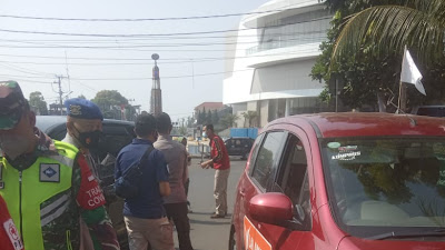 Operasi Yustisi di Perketat Jelang H-1 Hari Raya Idul Fitri 1442 H.