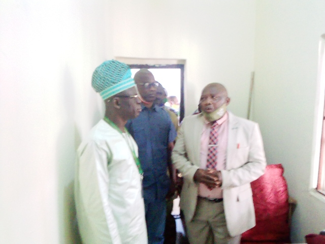 Fedpoffa:  HOD Architecture Commissions Resource Centre, Commends Rector For Special Intervention