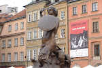 The Mermaid - symbol of Warsaw, I believe.