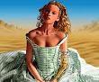 Cyber Girl In Desert