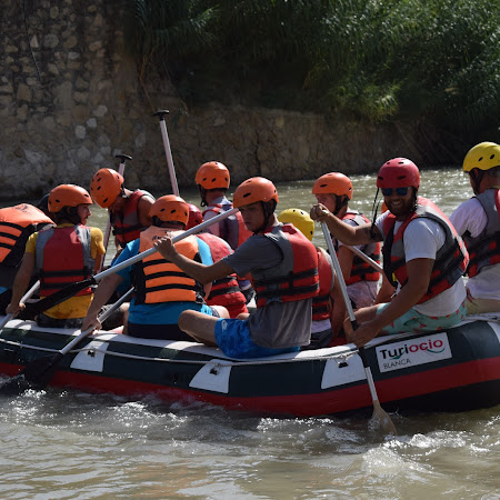 Descenso en Rafting 29/08/2018 (Tarde)