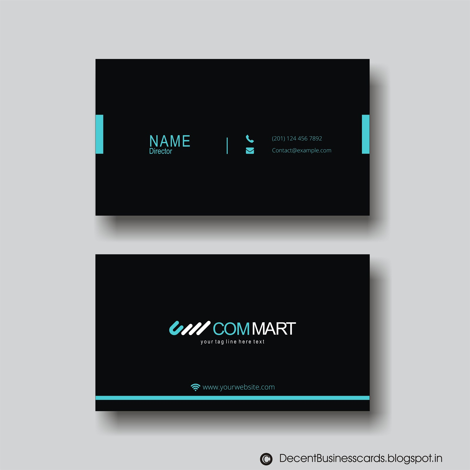 Decent Business Cards : Formal Business Cards