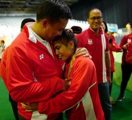 Bikin Bangga, Atlet Angkat Besi Indonesia Sri Wahyuni Sumbang Medali Pertama Indonesia Di Olimpiade Rio 2016