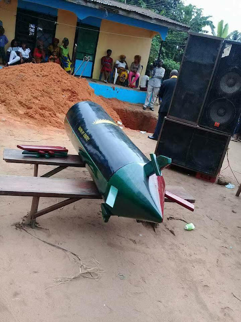 See How This IPOB Member Was Buried (Photos)
