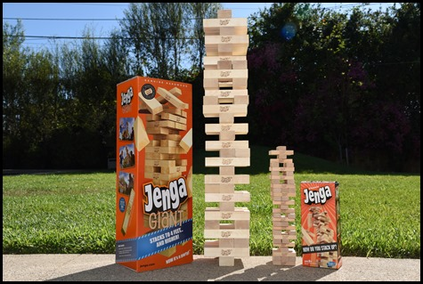 Jenga Comparison with classic