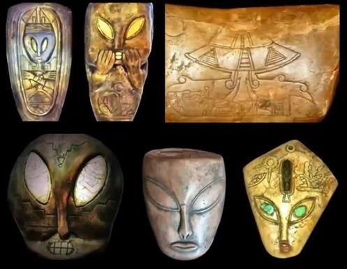Extraordinárias Evidencias de Contato com Extraterrestres em 12000 AC