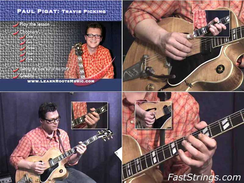 Paul Pigat - Travis Picking: Hillbilly Fingerstyle Guitar