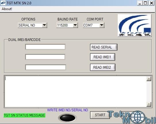 TGT MTK SN v2.0 (İmei No Değişimi)