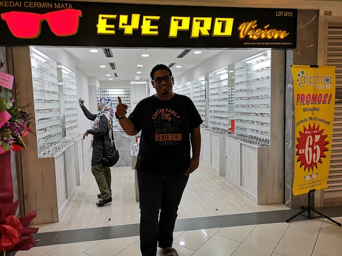 Nak Cermin Mata Murah dan Berkualiti? Jumpa je William Kat Eye Pro Vision