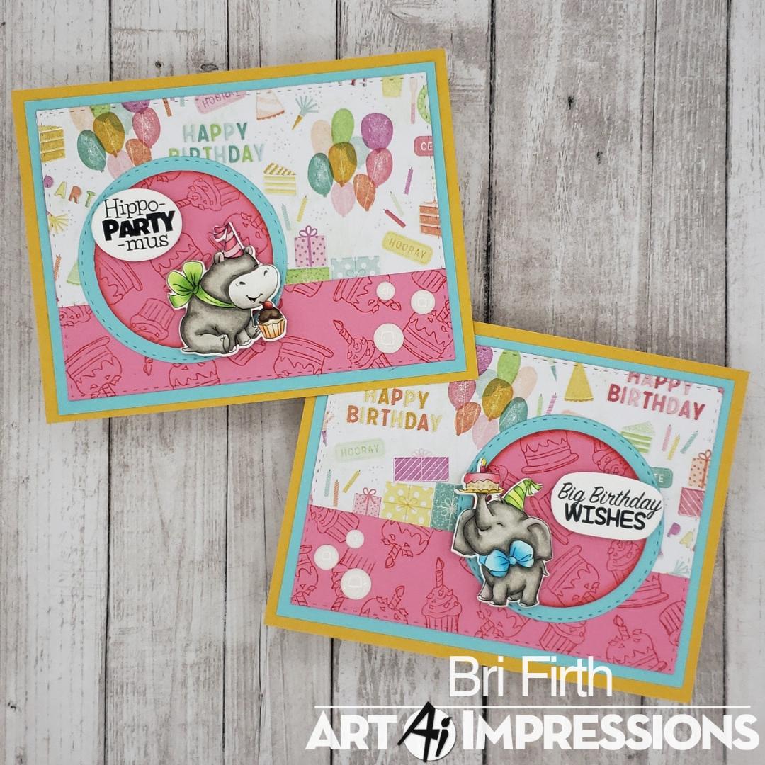 Art Impressions Blog Birthday Party Animals By Bri Firth