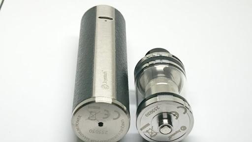 DSC 1836 thumb%25255B2%25255D - 【MOD】初心者御用達「Joyetech UNIMAX 25スターターキット」レビュー。大容量3000mAhでビギナーに最適な25mm MOD。