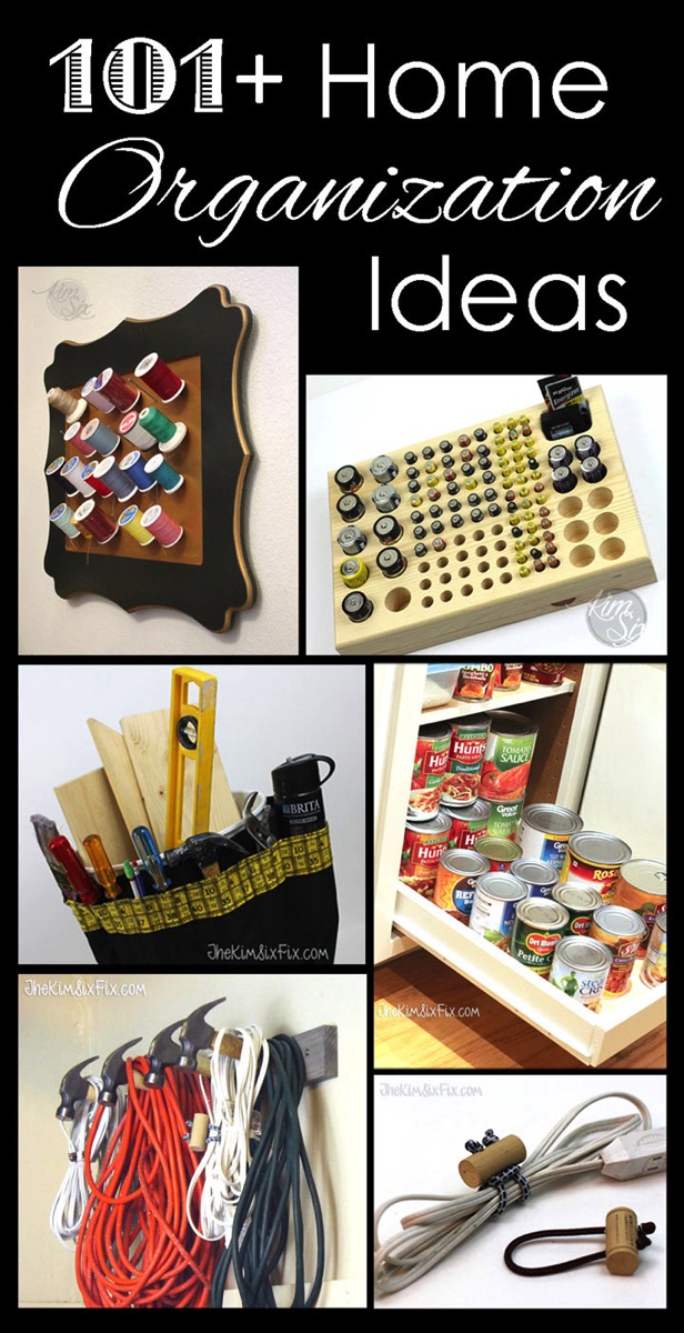 101 Home Organization Ideas
