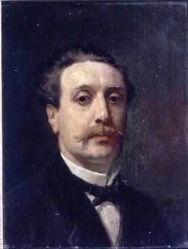 Portrait Of Guy De Maupassant 1876, Guy De Maupassant