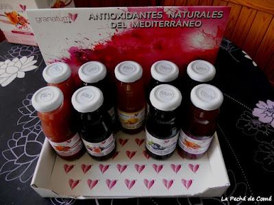 Granatum Plus: productor de zumo de granada, arándanos, higo y membrillo