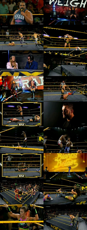 Screen Shot Of WWE NXT 15th January 2020 HDTV 480P 300MB
