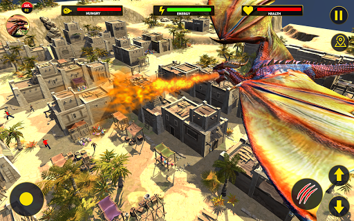 Flying Dragon City Attack 1.0.8 screenshots 17