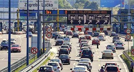płatności za autostradę w Chorwacji