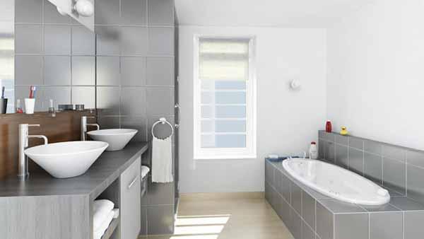 Laurina parigina salle de bain salle d 39 eau et les toilettes - Salle de bain salle d eau ...