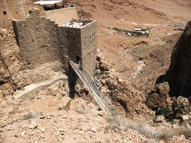Hеделя с монахами монастыря Mar Musa (Сирия)