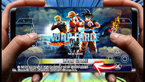 NEW JUMP FORCE BETA V1 MOD NARUTO IMPACT LITE PARA PPSSPP  +DOWNLOAD