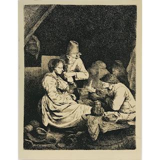 Cornelis Bega Etching