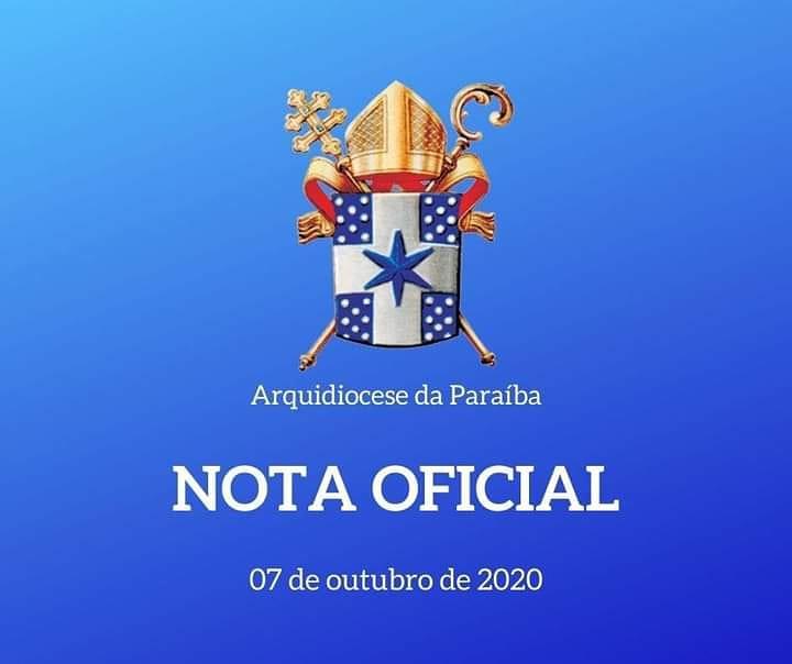 Nota Arquidiocesano sobre o caso do Cruzeiro da Cidade do Conde