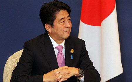 Thu tuong Nhat Ban Shinzo Abe