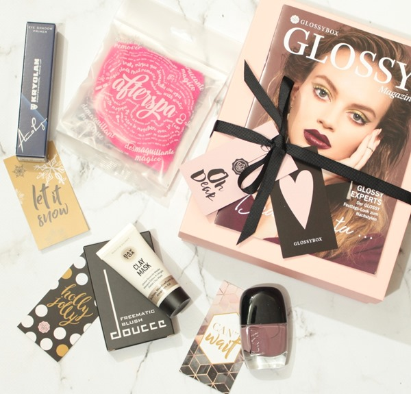 GlossyboxDearSantaEditionNovember2017