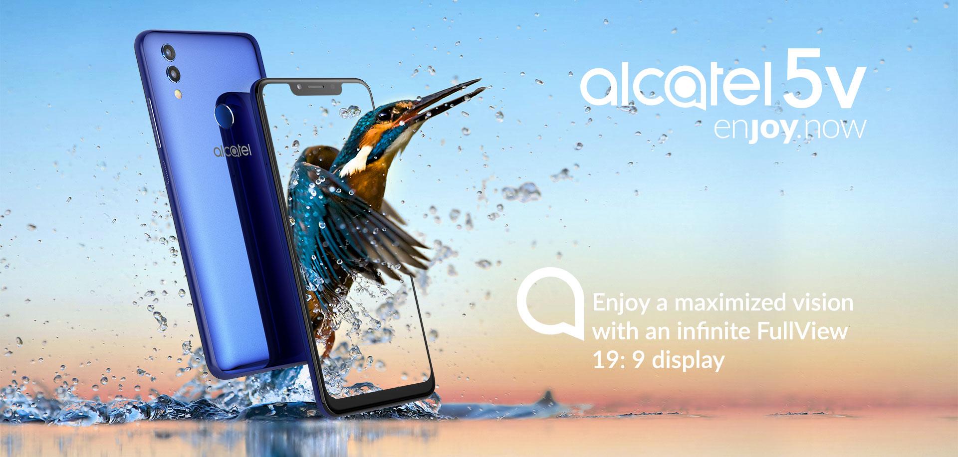 جوال Alcatel 5V المميز بتصميم جذاب ومواصفات رائعة جداً