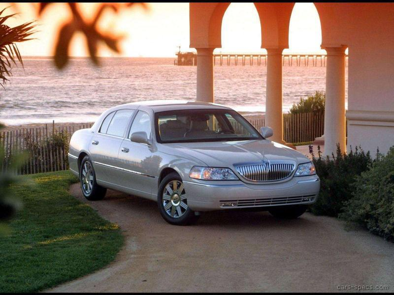 2006 Lincoln Town Car Sedan Specifications Pictures Prices
