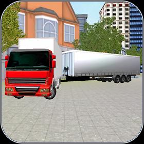 грузовой грузовик Водитель 3D