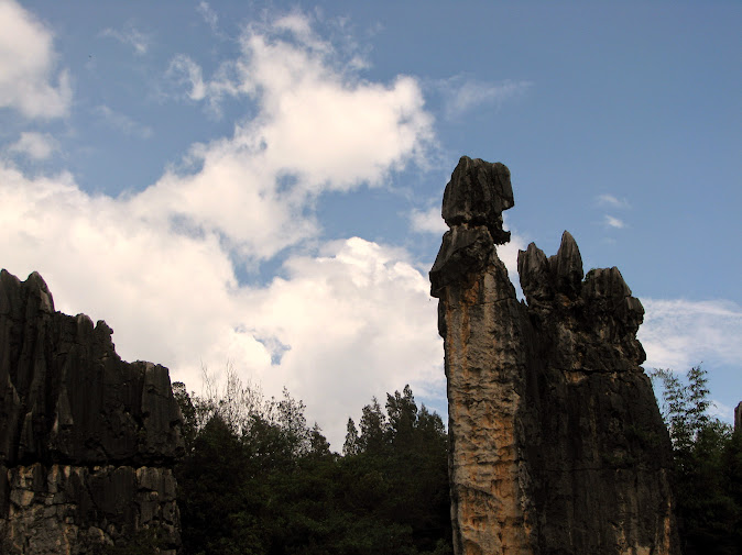 Ashima rock at Shilin, Kunming, Yunnan