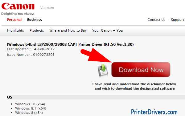 download canon lbp 2900 printer driver 32bit