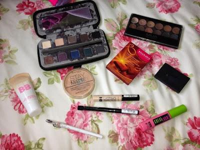 Natural summer makeup look products