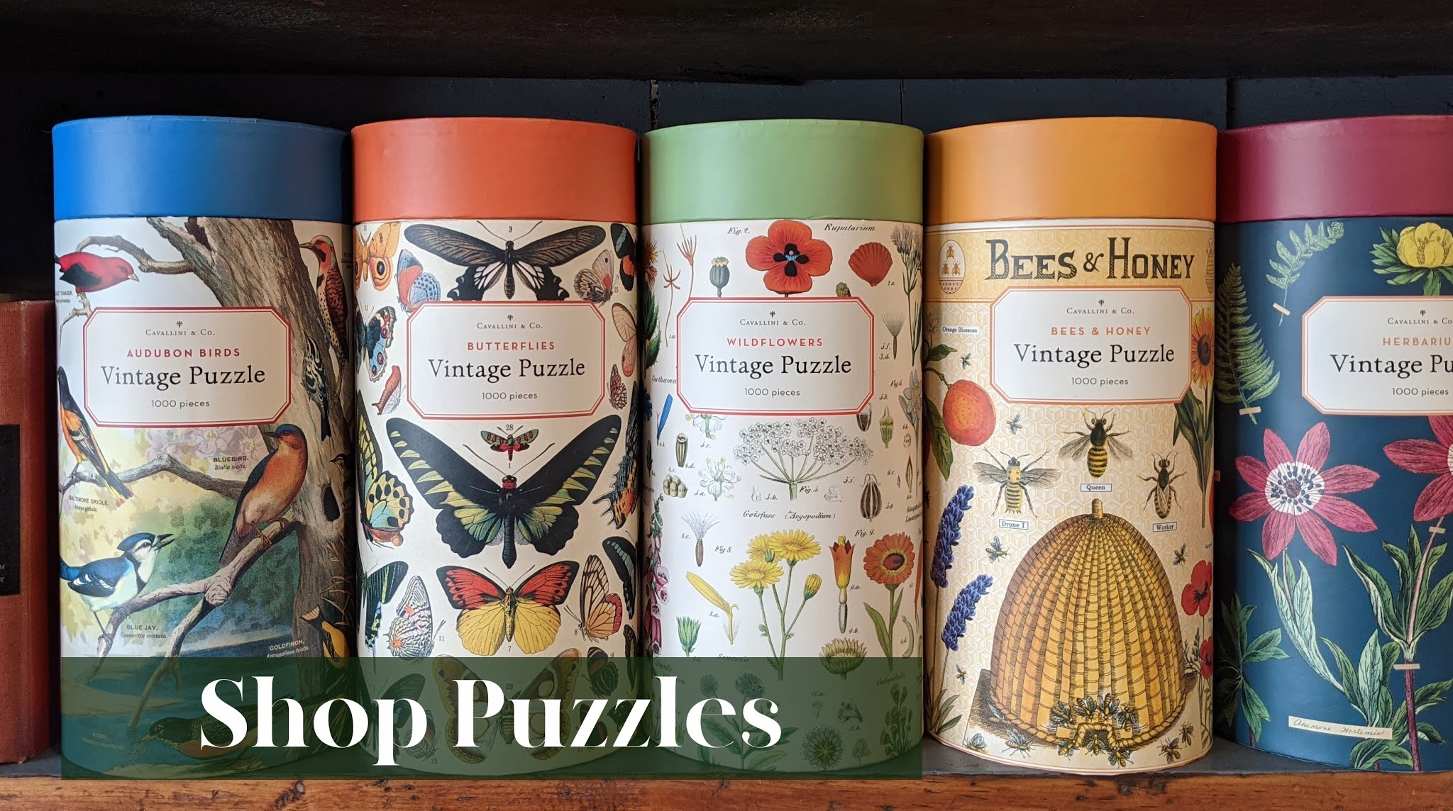 Shop our collection of jigsaw puzzles!