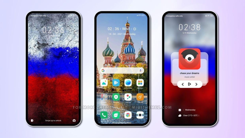 Russia MIUI Theme